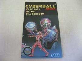 Cyberball *Manual* (JAP)