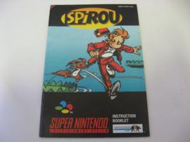 Spirou *Manual* (EUR)