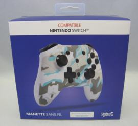 Nintendo Switch Wireless Bluetooth Controller 'Snownite' - Under Control (New)