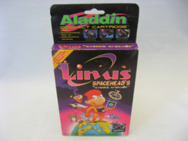 Linus Spacehead's Cosmic Crusade - Aladdin Compact Cartridge (USA, CIB)
