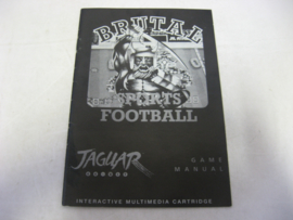 Brutal Sports Football *Manual* (JAG)
