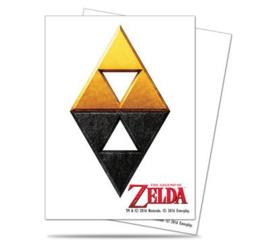 SLEEVES - Zelda Tri-Force (65) (New)