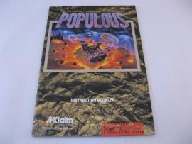 Populous *Manual* (USA)