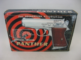 Panther Light Gun for Saturn/PS1 (Boxed)