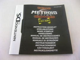 Metroid Prime Hunters - First Hunt Demo *Manual* (EUR)