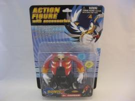 Sonic X - Dr. Eggman Action Figure (New)