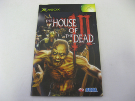 The House of the Dead III *Manual* (XBX)