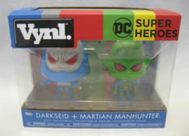Vynl - DC Super Heroes - Darkseid + Martian Manhunter - Funko (New)