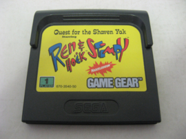 Quest for the Shaven Yak Starring Ren & Stimpy (GG)