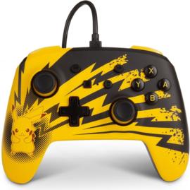 Enhanced Wired Controller 'Lightning Pikachu' (New)