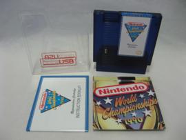 Nintendo World Championship 1990 - Reproduction Cartridge (RetroUSB, CIB)