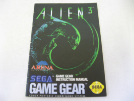 Alien 3 *Manual* (GG)