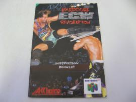 ECW Hardcore Revolution *Manual* (UKV)