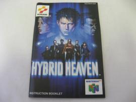Hybrid Heaven *Manual* (EUR)