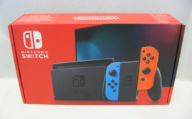 Nintendo Switch Console (2019)  - Red/Blue (New)