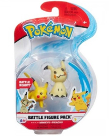 Pokemon Battle Figure Pack - Mimikyu & Pikachu (New)