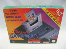 Super Game Boy Adapter + Player's Guide (Boxed)