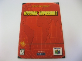 Mission Impossible *Manual* (USA)