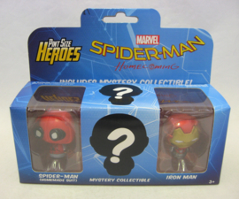 Spider-Man Homecoming - Funko Pint Size Heroes Figure 3-Pack (New)