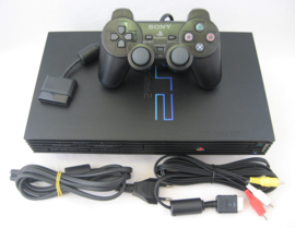 PlayStation 2 Fatboy Console Set - Black (SCPH-35004)
