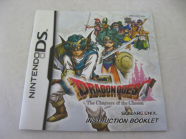 Dragon Quest - The Chapters of the Chosen *Manual* (UKV)