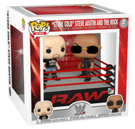 POP! ''Stone Cold'' Steve Austin and The Rock - WWE - 2 Pack (New)