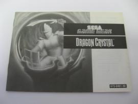 Dragon Crystal *Manual* (GG)
