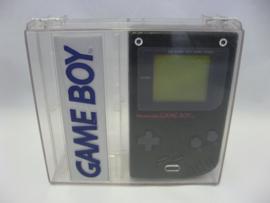 GameBoy Classic 'Black' + Transparent Case (Boxed)