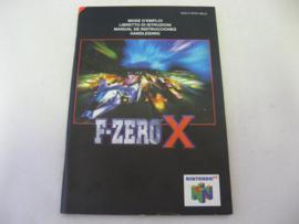 F-Zero X *Manual* (NEU4)