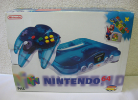 Nintendo 64 Console 'Clear Blue' Set (Boxed)