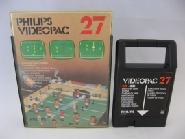 Electronic Table Football (Videopac 27)