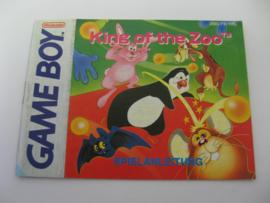 King of the Zoo *Manual* (FRG)