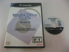 Interactive Multi-Game Demo Disc - Version 10 (USA)