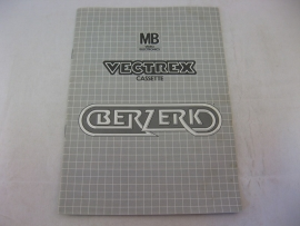 Berzerk *Manual* (Vectrex)