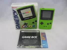 GameBoy Color 'Kiwi' Green (Boxed)