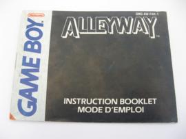 Alleyway *Manual* (FAH)