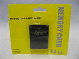 PlayStation 2 Memory Card 64MB 'Black' (New)