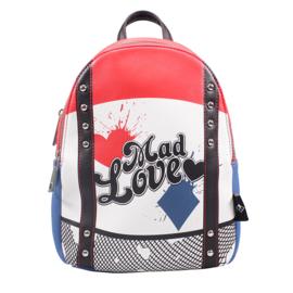 DC Comics: Harley Quinn Small Backpack (New)