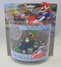 Mario Kart Wii - Pull-Back Racers - Luigi (New)