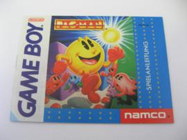 Pac-Man *Manual* (FRG)