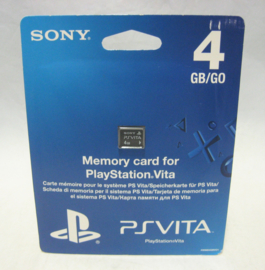 PS Vita - 4GB Memory Card (New)