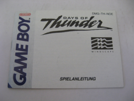 Days of Thunder *Manual* (NOE)