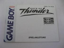 Days of Thunder *Manual* (NOE)