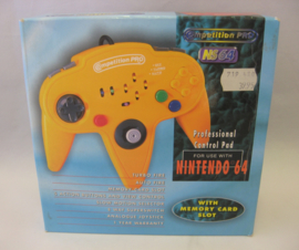N64 Competition Pro Controller 'Yellow' (Boxed)