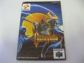 Castlevania *Manual* (EUR)