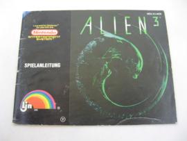 Alien 3 *Manual* (NOE)