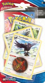 Pokémon TCG: Sword & Shield - Battle Styles Premium Checklane Booster - Corviknight (New)