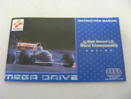 Nigel Mansell's World Championship Racing *Manual*