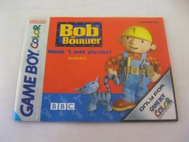 Bob de Bouwer *Manual* (HOL)