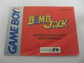 Bomb Jack *Manual* (FAH)